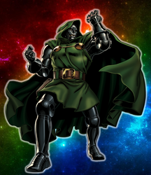Disney Altercation #3 - Dr. Doom by Galaxy-Afro