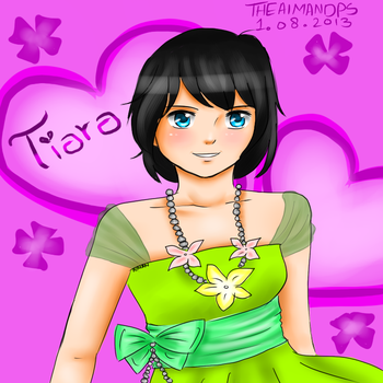 Request:Tiara by THEAIMANDPS