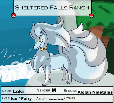 Sheltered Falls Loki by Apricotthevixen