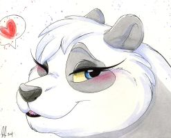 Day 7 Gill Panda by CottonConfection