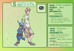 TDA App: Scott and Polvemon by ClimbTheCastleWalls