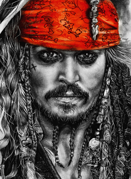 Jack Sparrow 2 by FreedomforGoku