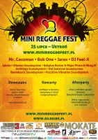 MiniReggaeFest2009 - poster by forty-winks