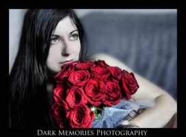 The Lady and the Rose by DarkMPhotography