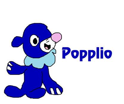 Popplio from Pokemon Sun and Moon by MikeEddyAdmirer89