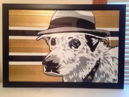 Michael Cerveris Duct Tape Art by DuctTapeDesigns