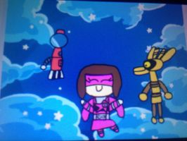 Child Kylietello and the bots by Beatlesfangirl15