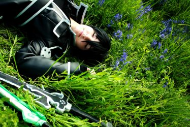 Kirito Sword Art Online Cosplay - Deep in Sleep by Seikoun