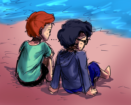i dont like it here but i like you by RK-Housey