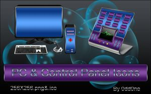 PC and Control Panel by 0dd0ne
