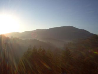 Sunrise In Ashe County by AnimeVSReality