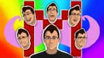 Expressions of Markiplier by Satha