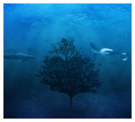 Underwater Tree by deadly-sinful
