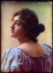 Vintage Actress Constance Collier by Miko2660