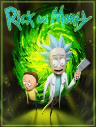 Rick and Morty by Aragah