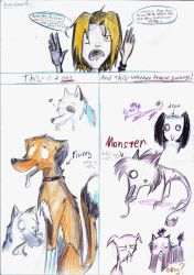 dogs, Y U SO UGLY? by QueenDeath