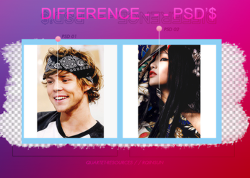 //difference-psd's. by quartet-resources