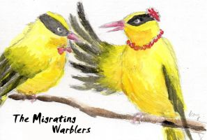 The Migrating Warblers by kay85905921