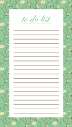 To Do List - Spring by Defreve
