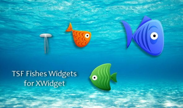 TSF Fishes Widgets for xwidget by Jimking