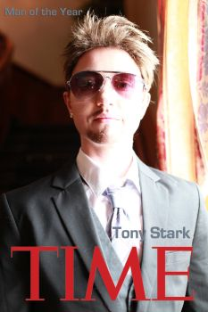 Tony Stark- Man of the Year by twinfools