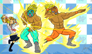 Rhythm Heaven Fever - Ringside Saiyans by Varleit