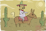 EL MEXICANO by paintmarvels