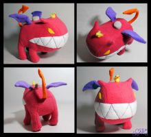Ultimate Chimera plushie Version 2 by Eyes5