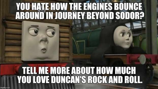 Condescending Toby: Journey Beyond Sodor by PilloTheStar