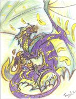 The Lightning Dragon!!! by Trucy757