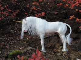 _White Unicorn Mare_ by Ethereal-Beings