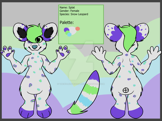 .::Reference Sheet::. Splat by TheWalkingEvergreen