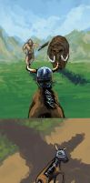 The Dragonborn Gallops 5. by kuoke