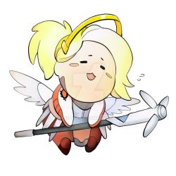 Chibi Mercy by poly-m