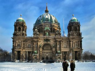 Berlin Cathedral by pingallery