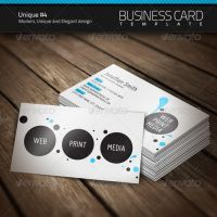 Unique Business Card 4 by artnook