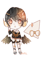 -CLOSED- (rare) demon Elis adoptable auction by yaourtie