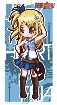 Fairy Tail - Lucy Heartfilia by Akage-no-Hime