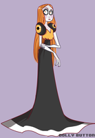 Candy Corn Lady??? by Dolly-Button
