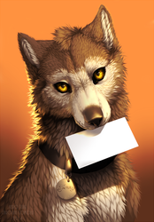 The letter of a wolf by KeroTzuki94