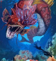 A Wild Red Gyarados Appeared! by yandere-Yuno