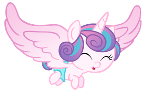 Flurry Heart Flying by Hendro107