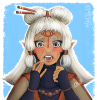 Paya [The Legend of Zelda] by ElleAP