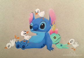 Stitch and Scrump by xxcharlotteoxx
