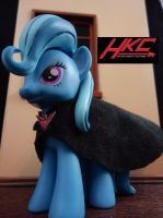 The great and powerful Trixie (Trixie Lulamoon) by hunterknightcustoms