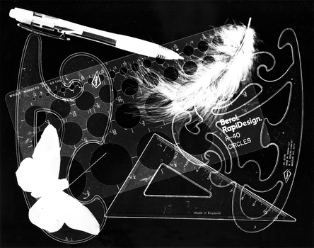 Tools Of The Ink Trade - Photogram by MarqueeDesign