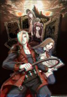 Castlevania Portrait of Ruin 3D Anaglyph by xmancyclops