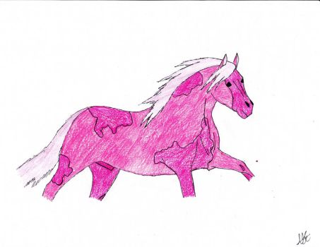 Pink Pinto by PoiplePonie