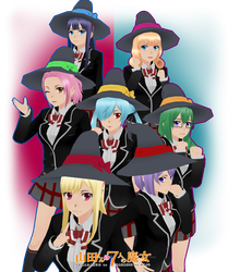 Yamada-kun and the seven witches... Witches by KawaiiSugarRose