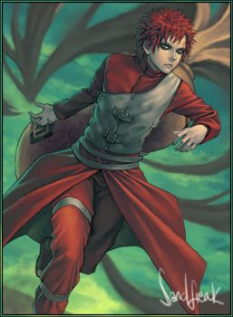 Gaara Running by Sandfreak